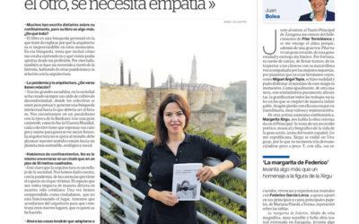 Entrevista en El Periódico