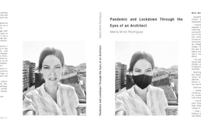 """News Break article. New book launch """"Pandemic and Lockdown Through the Eyes of an Architect"""""""